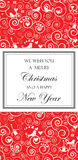 Christmas and New Years Card Stock Photos