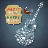 Christmas and New Years card Stock Photography
