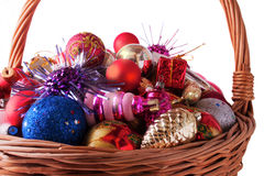 Christmas and New Years Decorations Stock Images