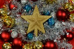 Christmas and New Years eve background. Holiday christmas, glitter background.Christmas is a holiday of joy, fun, hope royalty free stock image