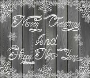 Christmas and New Years Greetings Stock Photos