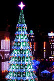 Christmas and New Years's 2013 in Kiev, the capital of Ukraine Stock Photography