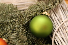 Christmas and New Years scene Royalty Free Stock Photo
