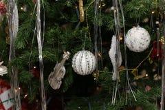 Christmas and New Years scene Stock Image