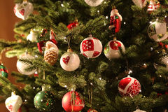 Christmas and New Years scene Royalty Free Stock Photography