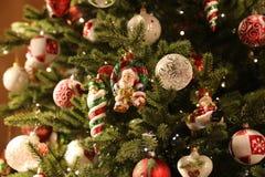 Christmas and New Years scene Stock Photo