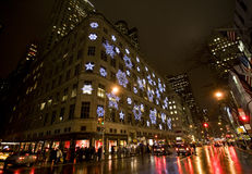 christmas new york Στοκ εικόνα με δικαίωμα ελεύθερης χρήσης