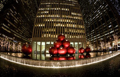 christmas new york Στοκ φωτογραφία με δικαίωμα ελεύθερης χρήσης