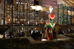 Christmas in New York City Royalty Free Stock Image