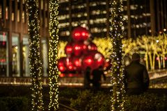 Christmas in New York City. There is no where better in the world to spend Christmas. No City does it better. Than New York City stock photography