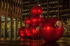 Christmas in New York City. There is no where better in the world to spend Christmas. No City does it better. Than New York City royalty free stock photography