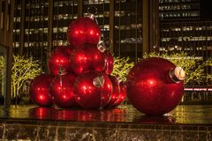 Christmas in New York City. There is no where better in the world to spend Christmas. No City does it better. Than New York City royalty free stock image
