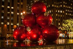 Christmas in New York City. There is no where better in the world to spend Christmas. No City does it better. Than New York City royalty free stock photo
