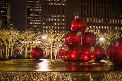 Christmas in New York City. There is no where better in the world to spend Christmas. No City does it better. Than New York City stock photos