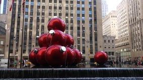 New York City at Christmastime Royalty Free Stock Photos
