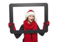 Christmas news. Royalty Free Stock Photos