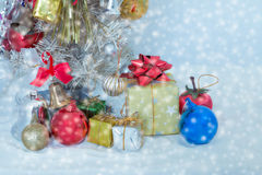 Christmas and newyear 2016. As background Stock Images