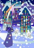 Christmas Night Stock Photos