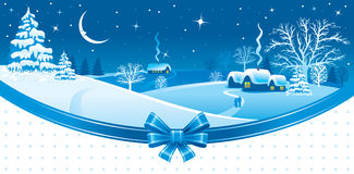 Christmas night Stock Images