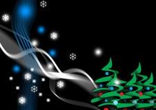 christmas night Στοκ εικόνα με δικαίωμα ελεύθερης χρήσης