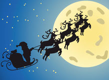 Christmas night Stock Photography