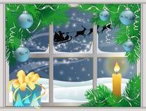 Christmas night.  Stock Photos