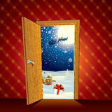 Christmas Night Royalty Free Stock Image