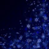 Christmas night background Stock Image