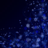 Christmas night background vector illustration