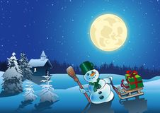 Christmas Night Stock Photos