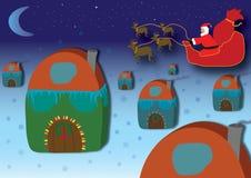 Christmas Night stock photo