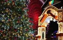 Christmas night view royalty free stock image