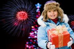 Christmas nights Stock Image