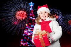 Christmas nights Royalty Free Stock Images