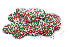 Christmas nonpareils Royalty Free Stock Images