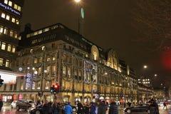 Christmas at Nordiska Kompaniet Royalty Free Stock Photo