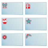 Christmas note cards Royalty Free Stock Photos
