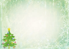 Christmas Note Paper royalty free illustration