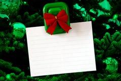 Christmas Notepad Royalty Free Stock Photo