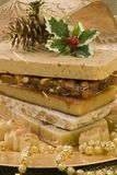Christmas nougat Royalty Free Stock Image