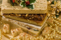 Christmas nougat Royalty Free Stock Photos