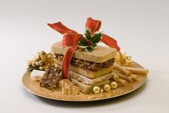 Christmas nougat Stock Photo