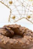 Christmas Nougat Cake Stock Image