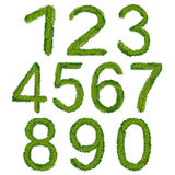 1234567890, Christmas numbers,  illustration. Christmas numbers, font,  illustration Stock Photography