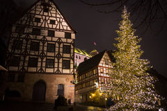 Christmas in Nuremberg Royalty Free Stock Photography