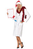 Christmas nurse Royalty Free Stock Photo
