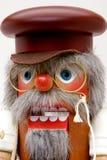 Christmas Nut Cracker. German wooden nut cracker doll stock photography