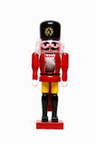 Christmas Nutcracker. Old style wooden nutcracker in the shape of a soldier Stock Image
