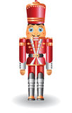 Christmas nutcracker. Fairy toy soldier Stock Photography