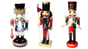Christmas nutcracker army Royalty Free Stock Images